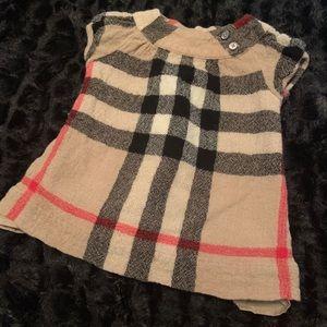 Children's Burberry dress